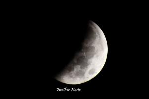 Hunters Moon Eclipse October 2014