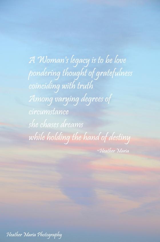 2 A woman's legacy